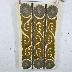 "Pottery Barn 16 x 26"" Cream Pillow Case Cover"